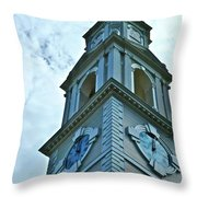 Do Not Be Late For Church Throw Pillow