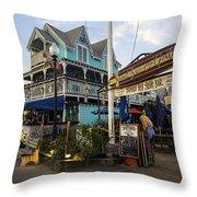 Do Not Seat Yourself - Martha's Vineyard Throw Pillow