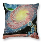 Do You Remember Who You Were Before Comming Here Throw Pillow