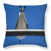 Do You See Humans? Throw Pillow