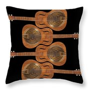 Dobro 5 Throw Pillow