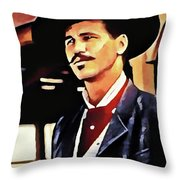 Doc Throw Pillow
