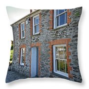 Doc Martins House Throw Pillow