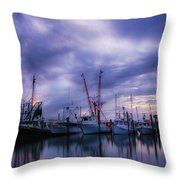 Dock Of Bay Throw Pillow