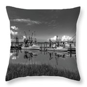 Docked II Throw Pillow