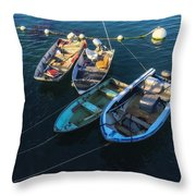 Docked Throw Pillow