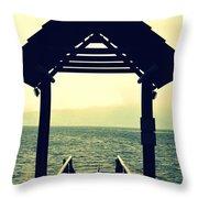 Dockside  Throw Pillow