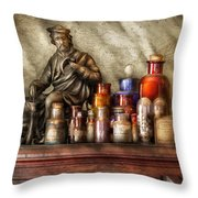 Doctor - Doctor Recommended  Throw Pillow by Mike Savad