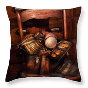Doctor - Inside A Doctors Bag Throw Pillow