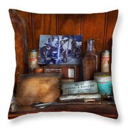 Doctor - My Cluttered Space Throw Pillow