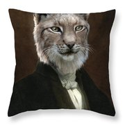 Doctor Cronus Throw Pillow