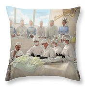 Doctor - Operation Theatre 1905 Throw Pillow