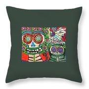 Dod Art 123cd Throw Pillow