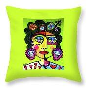 Dod Art 123hh Throw Pillow