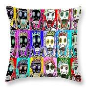 Dod Art 123nbv Throw Pillow