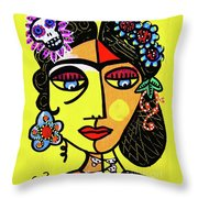 Dod Art 123oio Throw Pillow