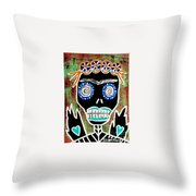 Dod Art 123oiu Throw Pillow