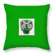 Dod Art 123pin Throw Pillow