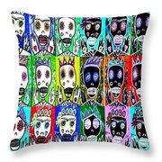 Dod Art 123uytt Throw Pillow