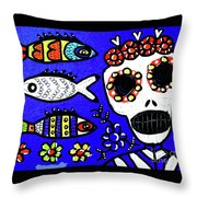 Dod Art 123yee Throw Pillow