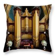 Dodd Pipe Organ Kent Town Adelaide Throw Pillow