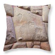 Dodecagon Throw Pillow