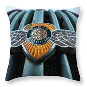 Dodge Brothers Emblem Jerome Az Throw Pillow