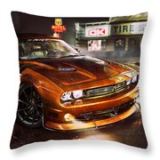 Dodge Challenger R T Throw Pillow