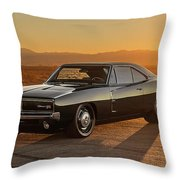 Dodge Charger - 01 Throw Pillow