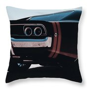 Dodge Charger - 04 Throw Pillow