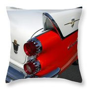 Dodge Coronet Tail Fin Throw Pillow