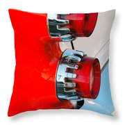 Dodge Coronet Taillight Throw Pillow