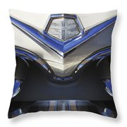 Dodge Custom Royal V8 Hood Ornament Throw Pillow