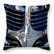 Dodge Hearse Throw Pillow