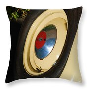 Dodge Tire Throw Pillow