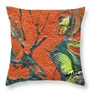 Dodo Bird Uprising Throw Pillow