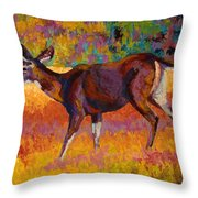 Doe IIi Throw Pillow