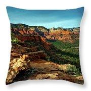 Doe Mountain Trail 60 Throw Pillow