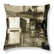 Does Anybody Really Know What Time It Is Throw Pillow