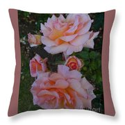 Does Roses Has Thorns Or Does Thorns Has Roses Throw Pillow