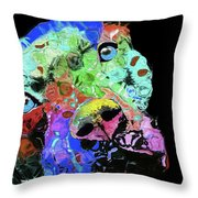 Dog #33 Throw Pillow
