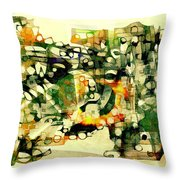 Dog 3549 Throw Pillow