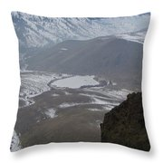 Dog Lake From Mt Clemons Throw Pillow