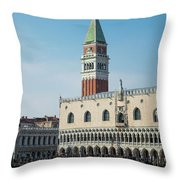 Doge's Palace, Venice Throw Pillow