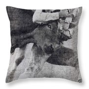 Doggin It Throw Pillow