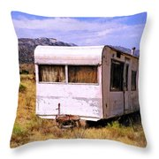 Dogpatch Trailer Throw Pillow