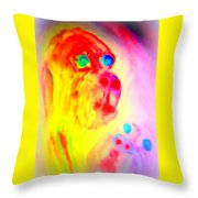 You May Feel Lonely But You Are Not Alone  Throw Pillow