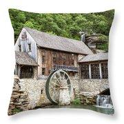 Dogwood Mill Throw Pillow