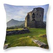 Dolbadarn Castle Throw Pillow