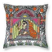 Doli Kahar Throw Pillow